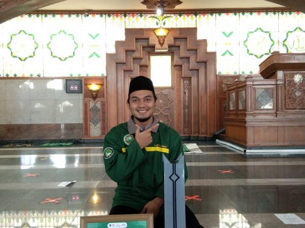 Berprestasi, Pengurus DKM Mesjid Agung Ciamis Raih Juara 3 Desain Website Tingkat Provinsi Jawa Barat
